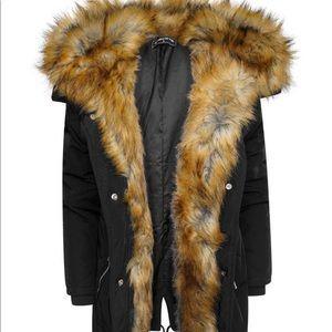 Women Vienna Lined Fur Coat